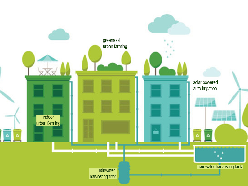 rain water harvesting1 - The Ncov Pandemic raises the need for urban farming to help barangays sustain itself on a crisis.